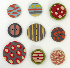 Buttons made out of Polymer Clay. | by Elsita (Elsa Mora)