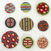 Buttons made out of Polymer Clay.