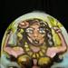 Hula Girl! Mini Movie. Face paint art in motion. Artist James Kuhn.