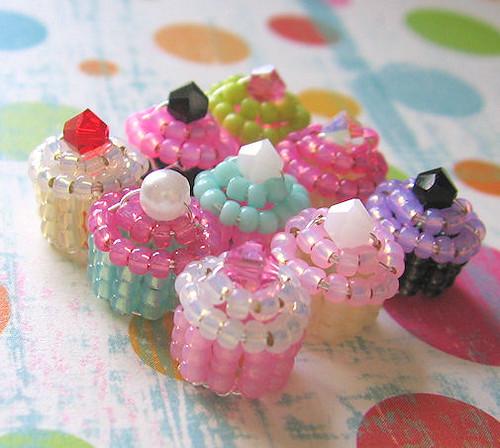 Super Tiny Mini Beaded Fairy Cupcakes Okay Guys I
