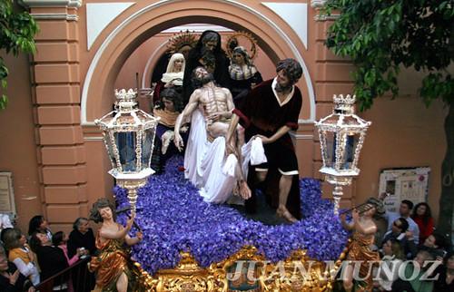 Semana santa sevilla salida de santa marta juan mu oz for Muebles munoz santa marta