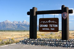 Grand Teton National Park Entrance Sign | by Erin and Lance Adventures