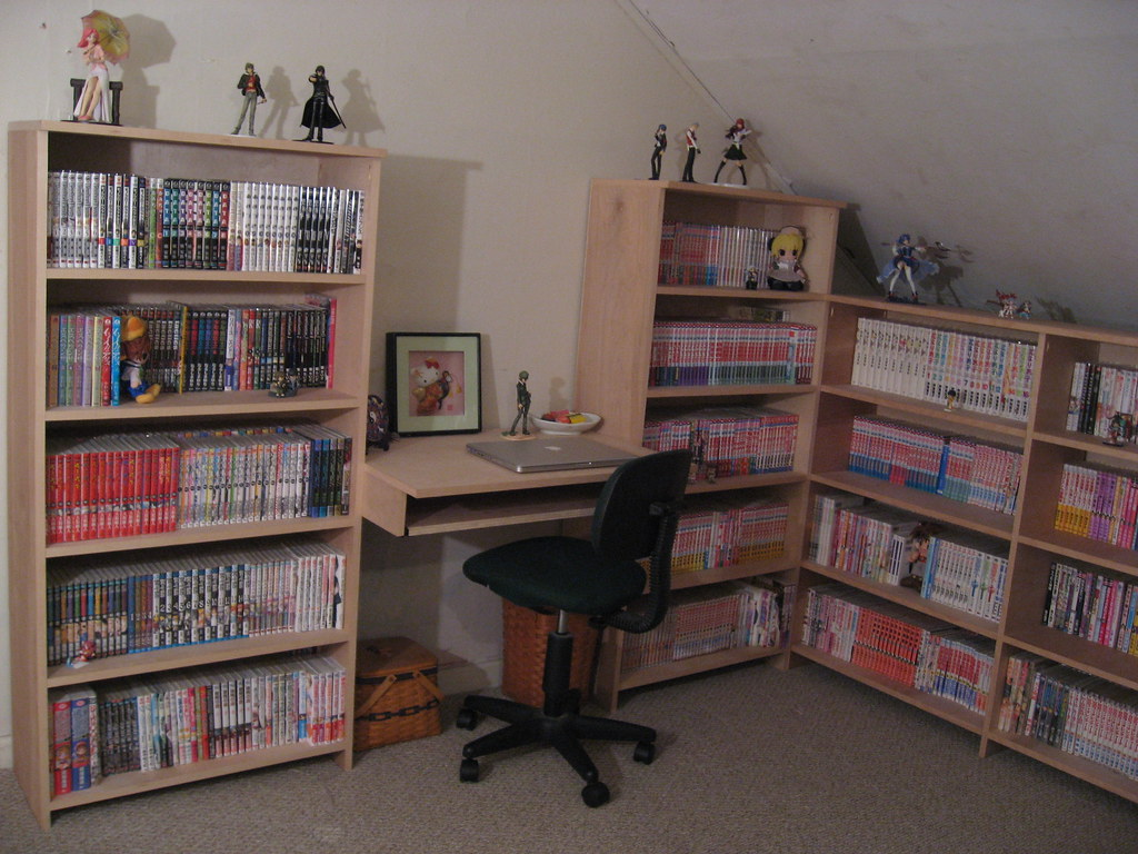 Manga collection | I reorganized, so I snapped a few new