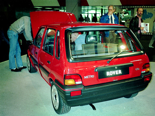 Rover metro gta flickr photo sharing for Old ben franklin motors inventory
