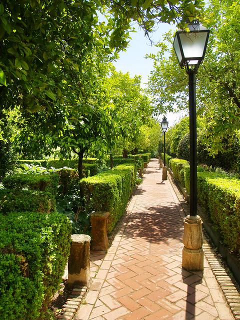 Jardines de los reales alc zares de c rdoba flickr - Jardines cordoba ...