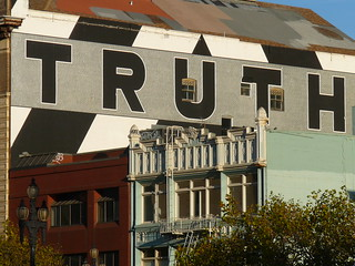 truth mural on side of building 02 | by radworld