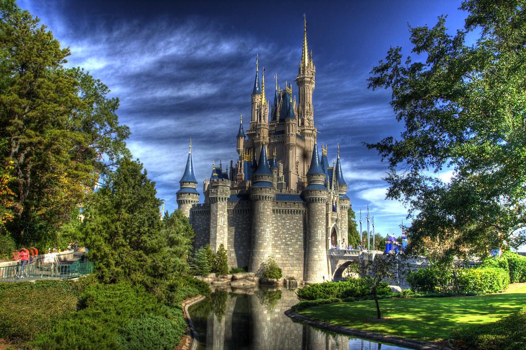 Cinderella Castle Hdr Cinderella Castle At Disney S Magic Flickr