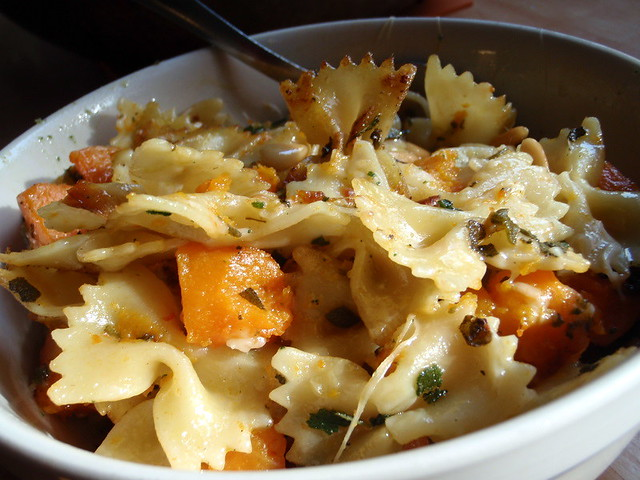 Pan-Fried Pasta with Butternut Squash, Fried Sage, and Pin… | Flickr