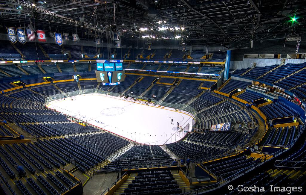 Bridgestone Arena Inside The Sommet Center Home Of The