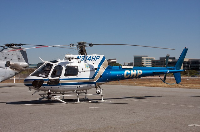 California Highway Patrol Helicopter N314hp Scott