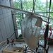 Boston Museum of Science: Self-powered aircraft hanging from the lobby ceiling