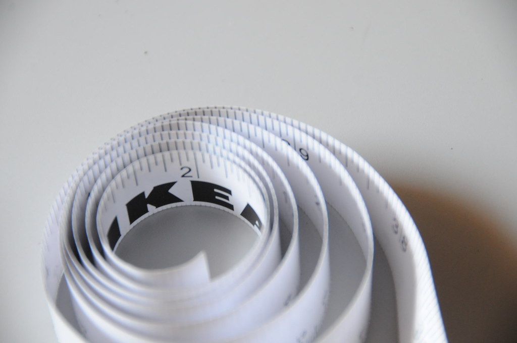 Ikea measure tape took one measuring tape for fun going for Cassette ikea