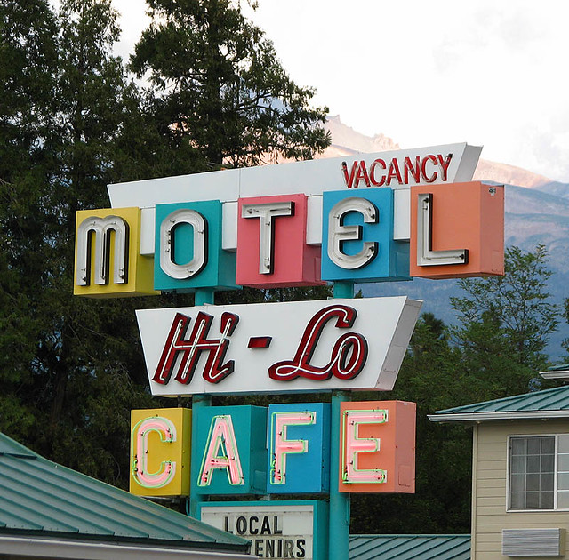 Hi Lo Motel Amp Cafe Weed California Serving Sleepy
