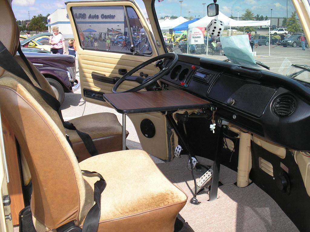 1979 Vw Type 2 Westfalia Camper Interior Cockpit Flickr