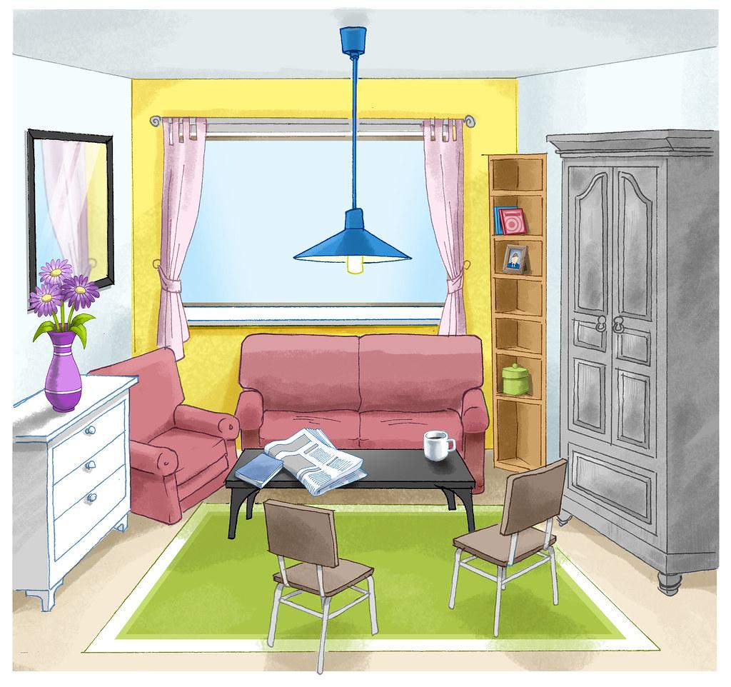 buntes zimmer matthias pfl gner flickr. Black Bedroom Furniture Sets. Home Design Ideas