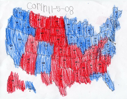 US Map - Red & Blue 01.jpg | by smithereen11