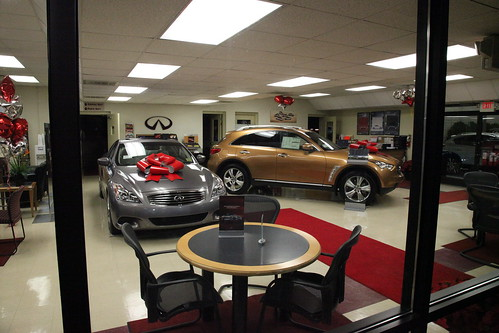 Infiniti Cars Waiting to be Put Under the Christmas Tree | by Steve Rhode