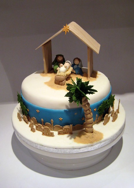 Christmas Nativity Cake Inspired by Karen Davies book. I ...