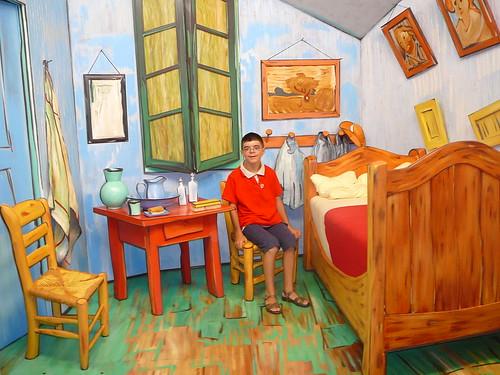 Dans la chambre de van gogh in van gogh 39 s bedroom flickr photo shar - Douche dans la chambre ...