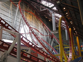 Mindbender rollercoaster at West Edmonton Mall | by philski2000
