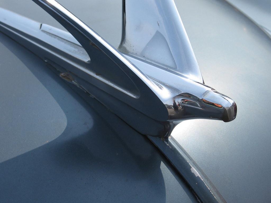 1950 Chevrolet Hood Ornament Last Originals Car Show