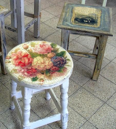 decoupage+ decorative paint dvora zerach Flickr