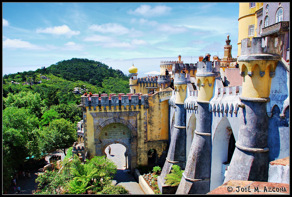 Sintra Portugal  city photos : Sintra Portugal . Palacio da Pena. | Este espectacular pala ...