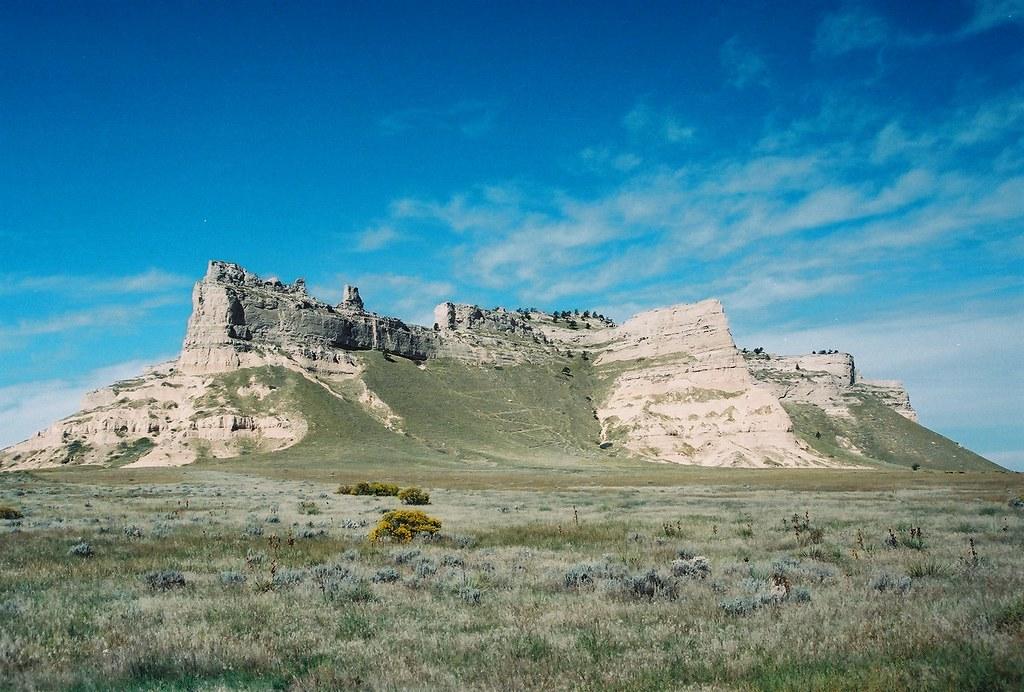 Scotts Bluff National Monument Nebraska 4 649 Ft