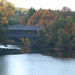 Henniker Covered Bridge over the Contoocook River, New Hampshire