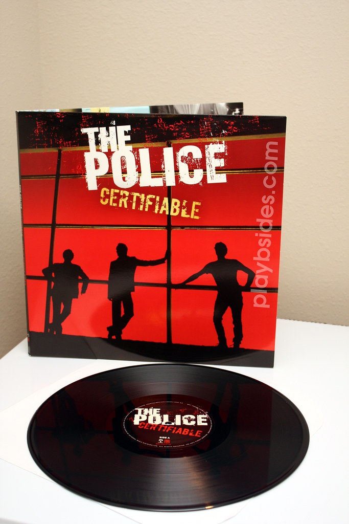 The Police Certifiable Vinyl I Picked The Vinyl For