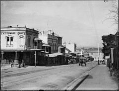 Milson's Point street scene with horses and carts | by Powerhouse Museum Collection