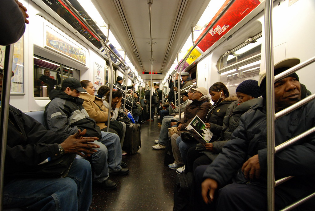 New York Subway Car Interior Of A 2 Train Subway Car In Ne Kevin Harber