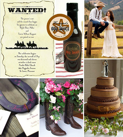 Western Wedding Theme Ideas And Inspirations For Bridal
