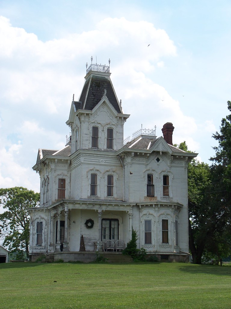 Oh ashland county house old fancy house in rural - Fancy houses photos ...