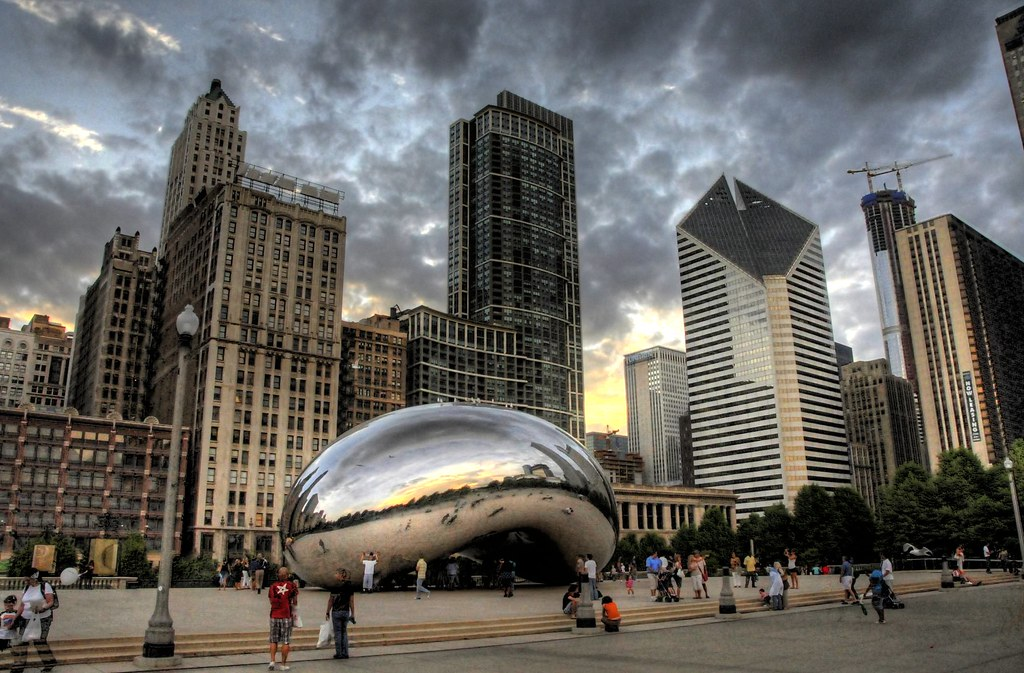 Cloud Gate I | Cloud Gate is British artist Anish Kapoor's ...