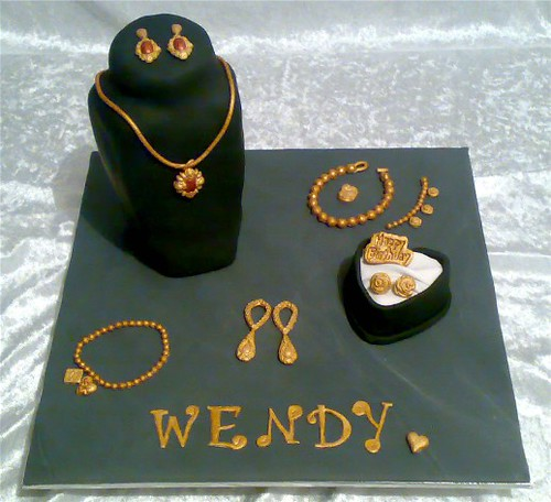 Jewellery Cake This Is A Cake For My Sister Well My