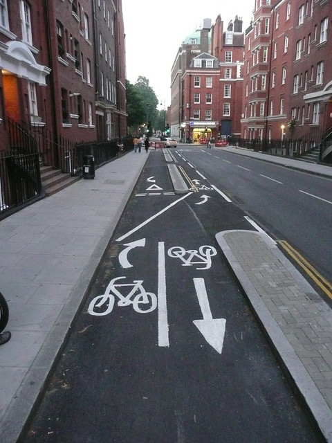 Pro Street Cars >> [P1010903] Cycle lane - EXTREME EDITION! | Someone at the co… | Flickr