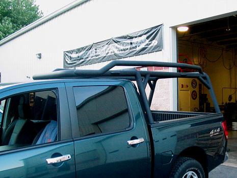 nissan titan truck kayak rack roll bar this titan kayak ra flickr. Black Bedroom Furniture Sets. Home Design Ideas