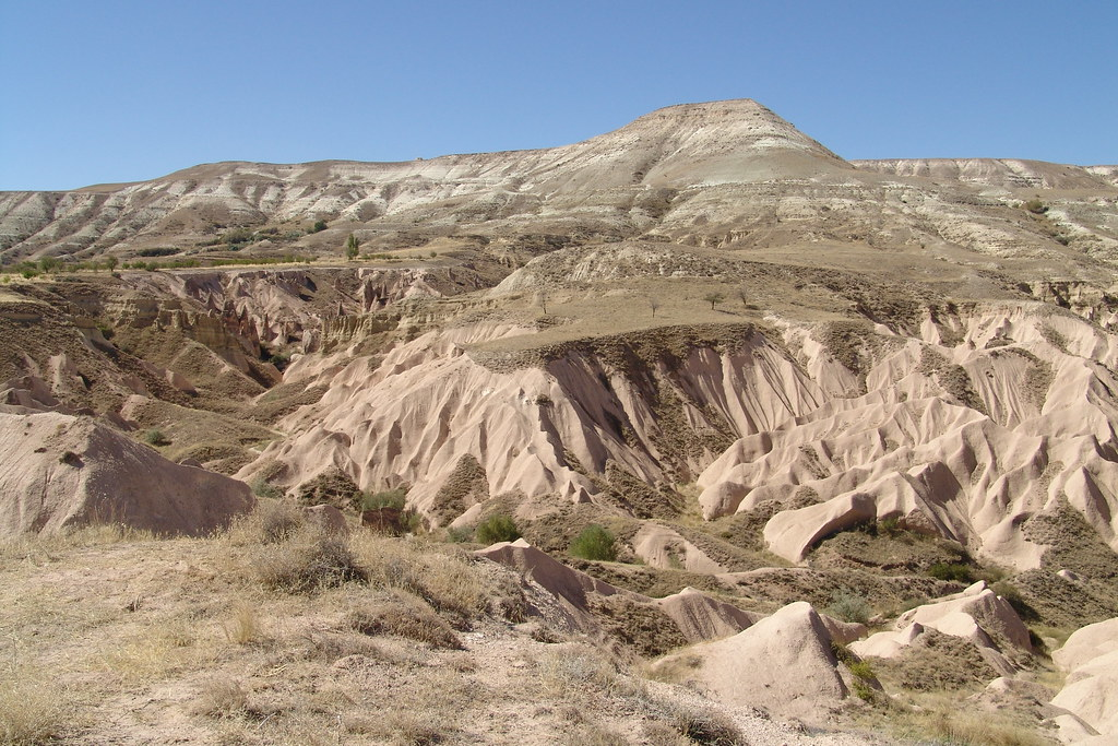 Turkish Landscape (10) - Cappadoce - 11Sep04, Cappadoce (T ...