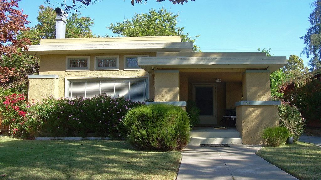 Prairie style house san jose california david sawyer for Prairie style