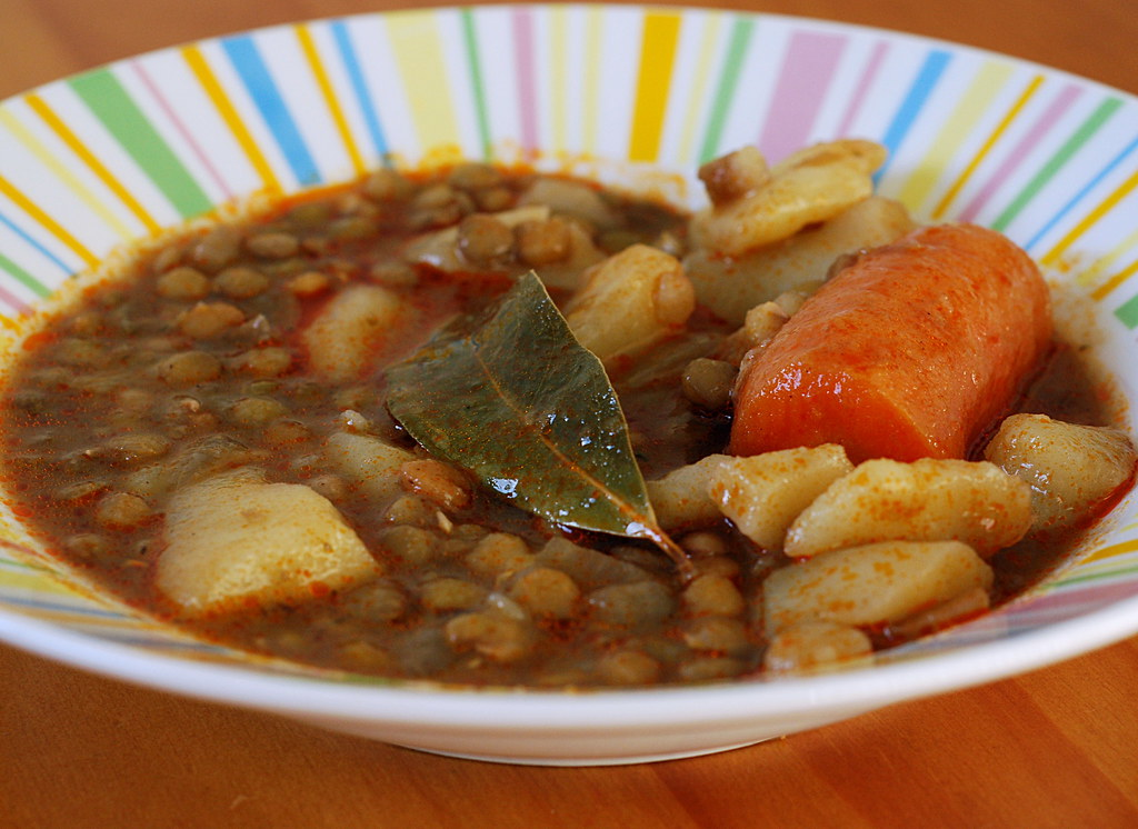 Spanish Lentil Stew With Bay Leaf and Pimenton. Lentejas | Flickr