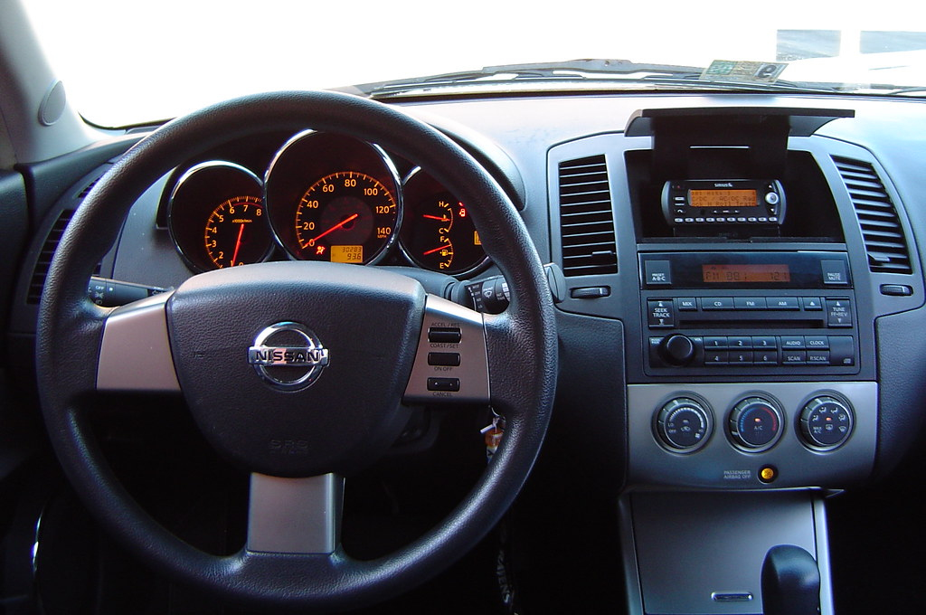 2005 Nissan Altima Dash Will Wilson Flickr
