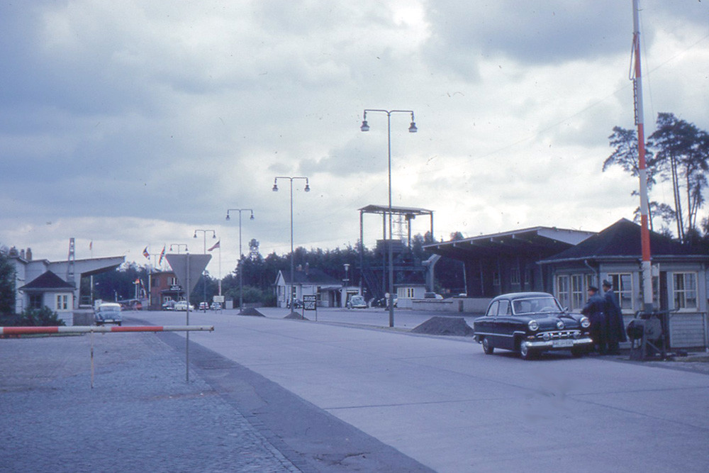 helmstedt allied checkpoint on autobahn the allied check flickr. Black Bedroom Furniture Sets. Home Design Ideas
