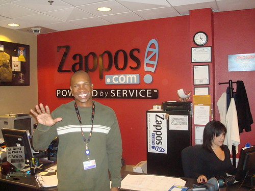 Zack at Zappos | by toprankonlinemarketing