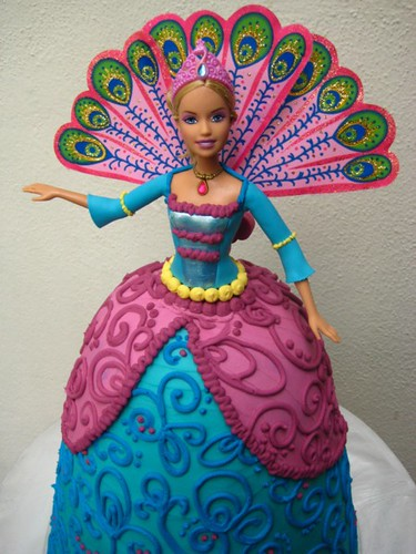 Barbie Island Princess Birthday Cake Cake