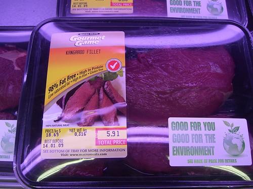 Kangaroo Fillet - Coles Supermarket, Westfield Doncaster Shoppingtown