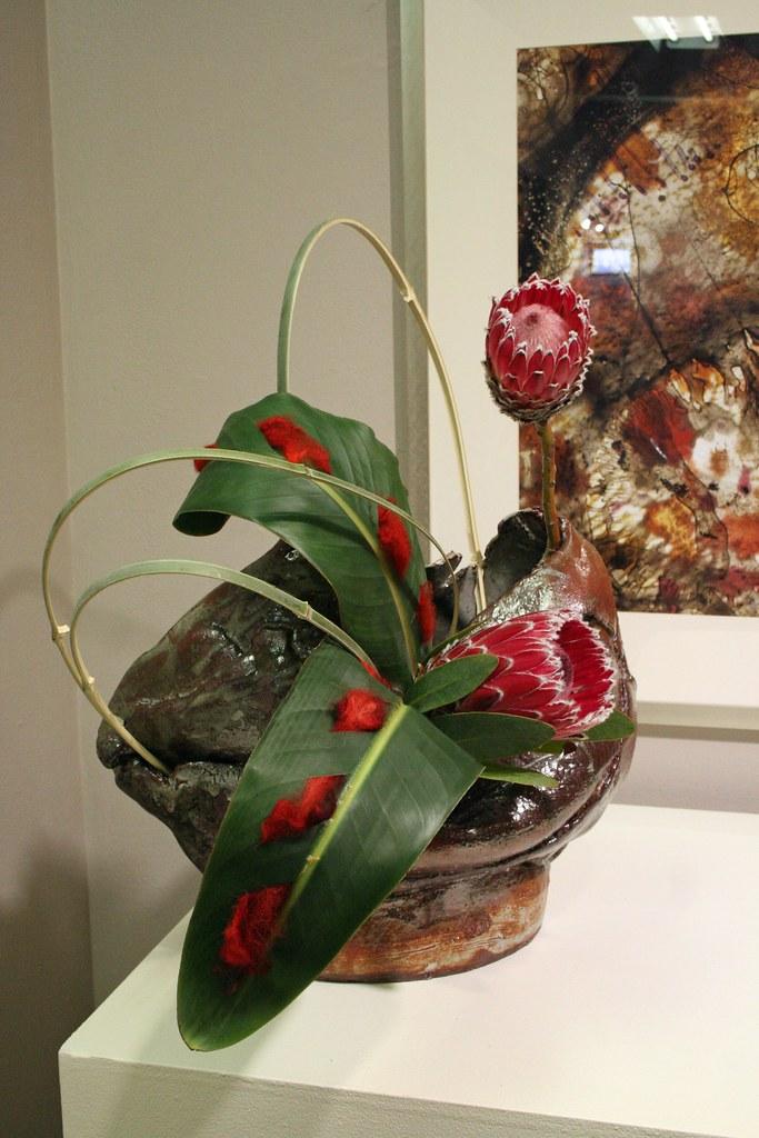 2014 Biennial Ikebana Exhibition At The Art League Gallery