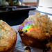 Shannon Makes Her Muffins with Rainbows!