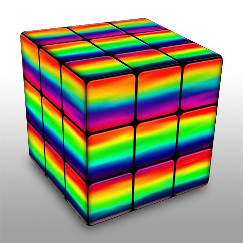 Rubik S Rainbow Created With Www Dumpr Net Fun With Your Flickr