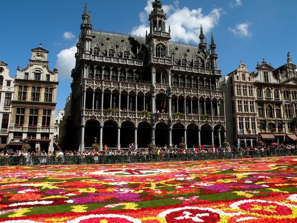 Tapis de fleurs et maison du roi bruxelles inspired by for Assurance gens de maison belgique
